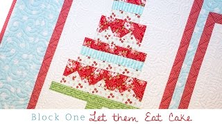 Snapshots Quilt Along Block One: Let Them Eat Cake Pattern – Fat Quarter Shop