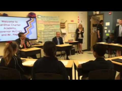 McCrory & Hage at Cardinal Charter Academy, Cary NC