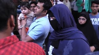 Shakib Khan hospitalised । Apu Biswas went there Secretly with her son