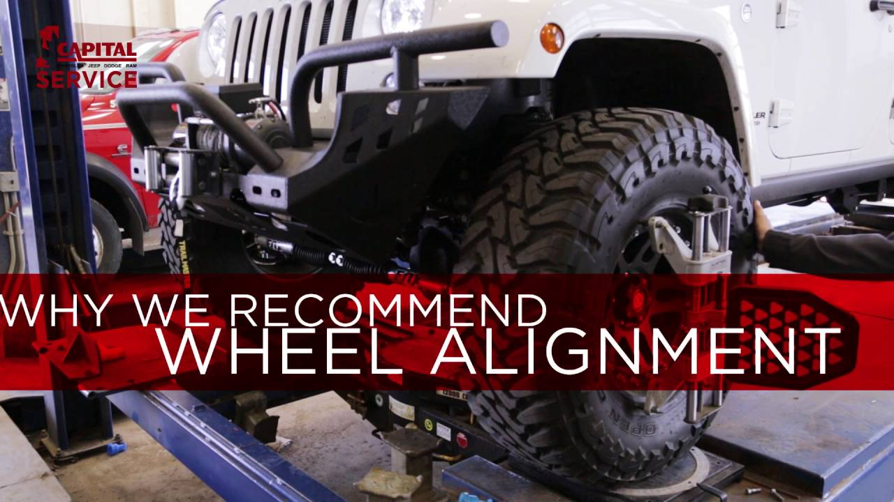 Capital Dodge Edmonton >> Why We Recommend Wheel Alignment Service Capital Chrysler Jeep Dodge Ram Edmonton Auto