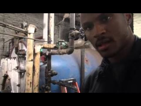 Changing a circulator pump on a domestic hot water supply system