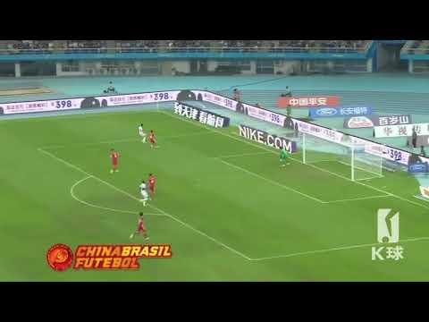 2° Gol Frank Acheampong - Tianjin Quanjian x Tianjin TEDA - 26a Rodada da Super Liga da China 2017