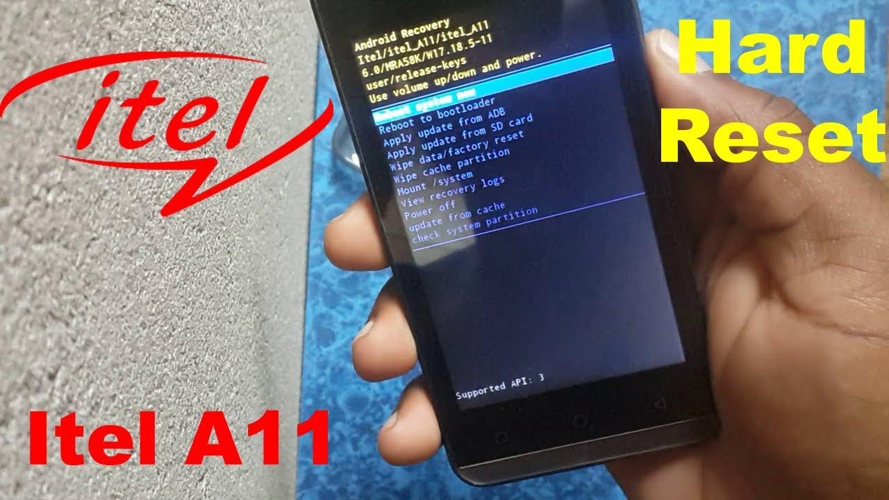 Hard Reset ITEL A11 - HardReset info