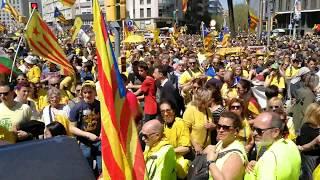 Manifestación Barcelona 15 abril 2018