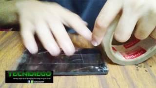 ¿Como desmontar o quitar un touch o pantalla tactil? Nokia RM 1091