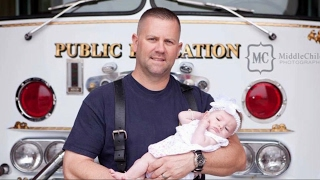 Firefighter and Daughter Reflect on How She Was Adopted Into the Family