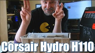 quick unboxing corsair hydro series h110 extreme perf liquid cpu cooler   04 2015 mcszakaltv