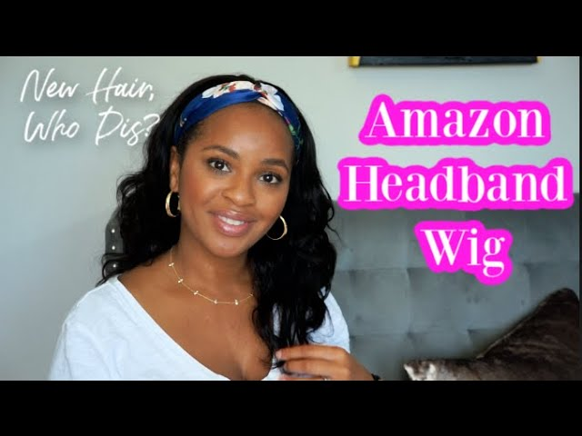 Amazon Affordable Headband Wig Try-On | Not Sponsored