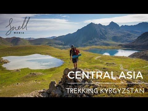 Central Asia Trekking Kyrgyzstan Adventure Travel Vlog Part 2