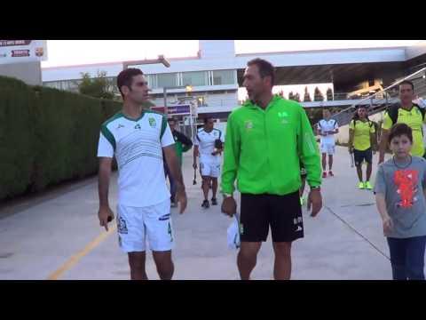 Rafa Márquez entrena con el León en Barcelona