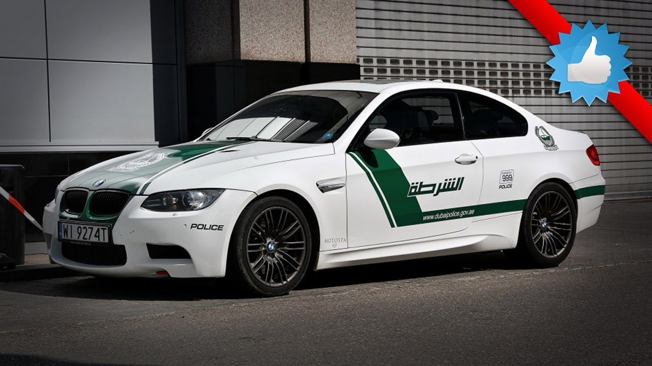 bmw m3 dubai police car spotted in poland 2014 - youtube