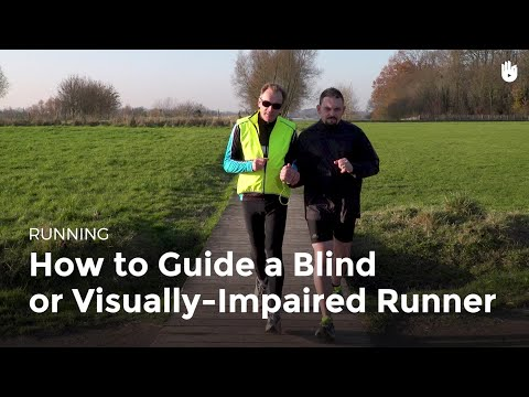 How to Guide a Blind or Visually-Impaired Runner | Running