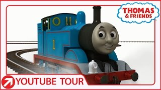 Thomas Leaves Sodor! | YouTube World Tour | Thomas & Friends thumbnail