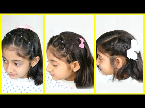 3 Simple & Cute Hairstyles for Medium Hair