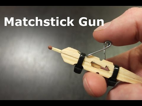 How to make matchbox gun from YouTube · Duration:  2 minutes 53 seconds