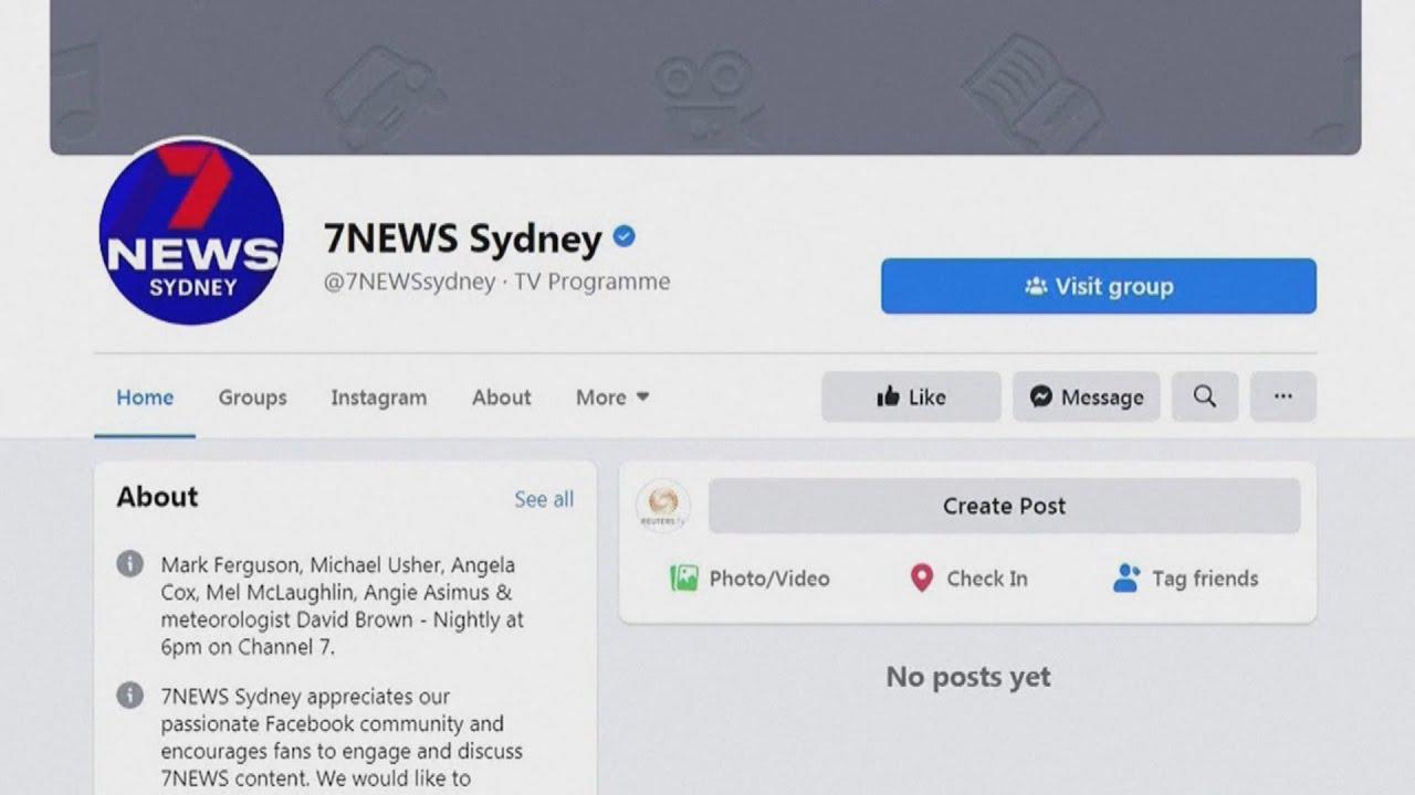 Facebook blocks Australian news content