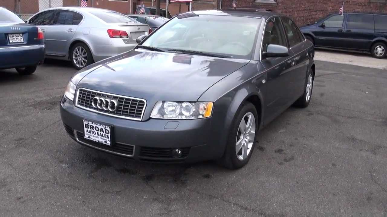 new jersey 2003 audi a4 3 0 quattro b6 sedan youtube. Black Bedroom Furniture Sets. Home Design Ideas