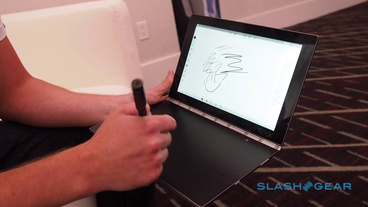 Lenovo Yoga Book Walkthrough At Ifa 2016 Youtube