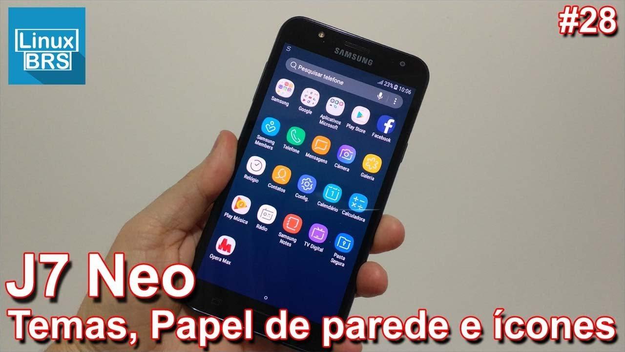 Samsung Galaxy J7 Neo - Temas, papéis de parede e ícones