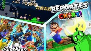 Super Mario Odyssey, xeno maker, smash ultimate android !! REPORTES CHURY