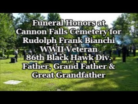 Dad S Funeral Rudolph Frank Bianchi August 17 2019