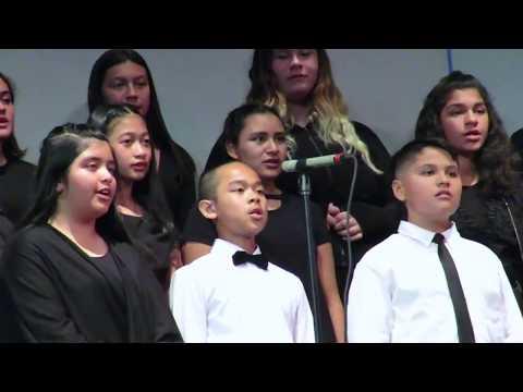 CHULA VISTA MIDDLE SCHOOL BEGINNING CHOIR GROUP PERFORMANCE