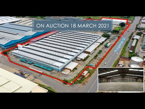 ON AUCTION 18 MARCH   WAREHOUSE & OFFICES - ALRODE