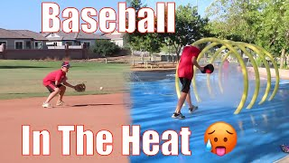 Baseball in the Heat