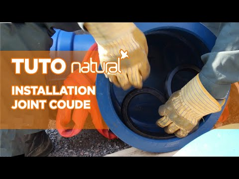 Standard joint installation for NATURAL ductile iron fitting