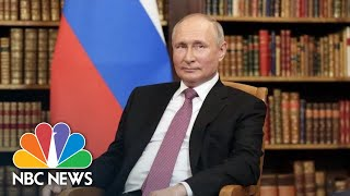 Putin Holds Press Conference After Meeting With Biden | NBC News