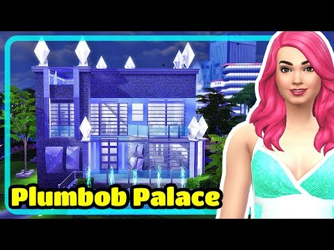 The Sims 4 Plumbob Palace Speed Build