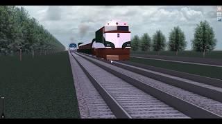Trilhos ilimitado trem assistindo | Roblox