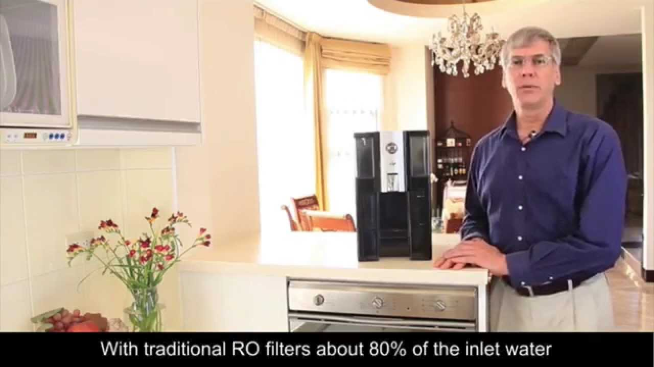 Zero Installation Purifier Countertop Reverse Osmosis Water Filter Youtube