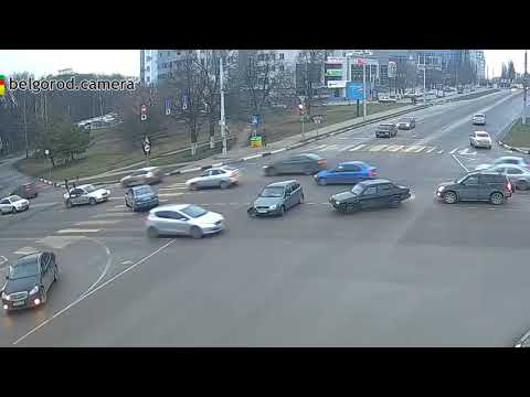 2.01.2018 г. Белгород, улица Костюкова - проспект Ватутина.