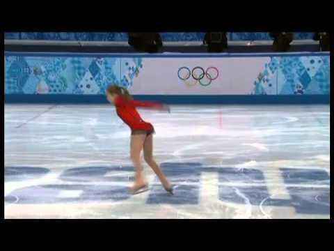 Yulia Lipnitskaya nouvelle promesse du patinage féminin - JO Sotchi 2014