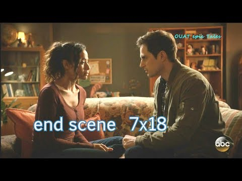 Once Upon A Time 7x18 Ending Scene Henry tells Jacinda - I'm Lucy's Father Season 7 Episode 18