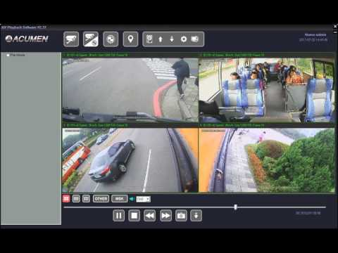 Transport CCTV Cameras for AHD and IP Vehicle Surveillance systems Demo