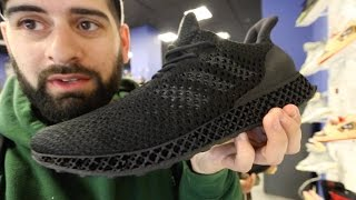 ADIDAS 3-D PRINTED SNEAKER COST $5,000 (THE FUTURE IS HERE)