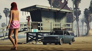 Car Showcase: Benefactor Glendale Stance【ROCKSTAR_EDITOR】Mercedes Car Tuning Movie ►StanceWorks◄