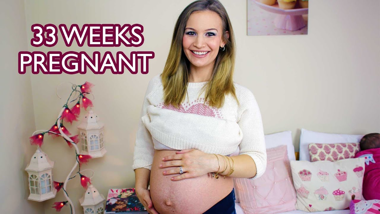 33 WEEK PREGNANCY VLOG! - YouTube