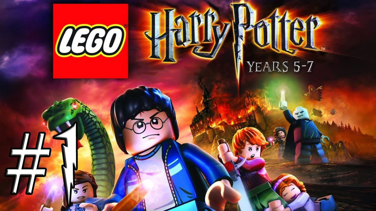 Lets Play 1 Lego Harry Potter Lata 5 7 Harry I Dementor Youtube