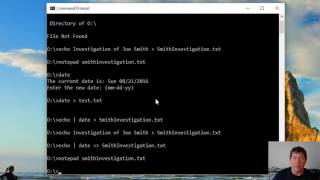 Windows Command Prompt for Forensics