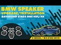 BAVSOUND - BMW 3 Series / M3 (F30) 2012+ Stage One HK and HiFi Speaker Upgrade Install