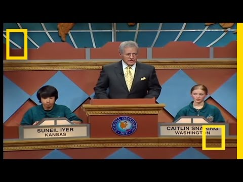 Final Question  National Geographic Bee 2007