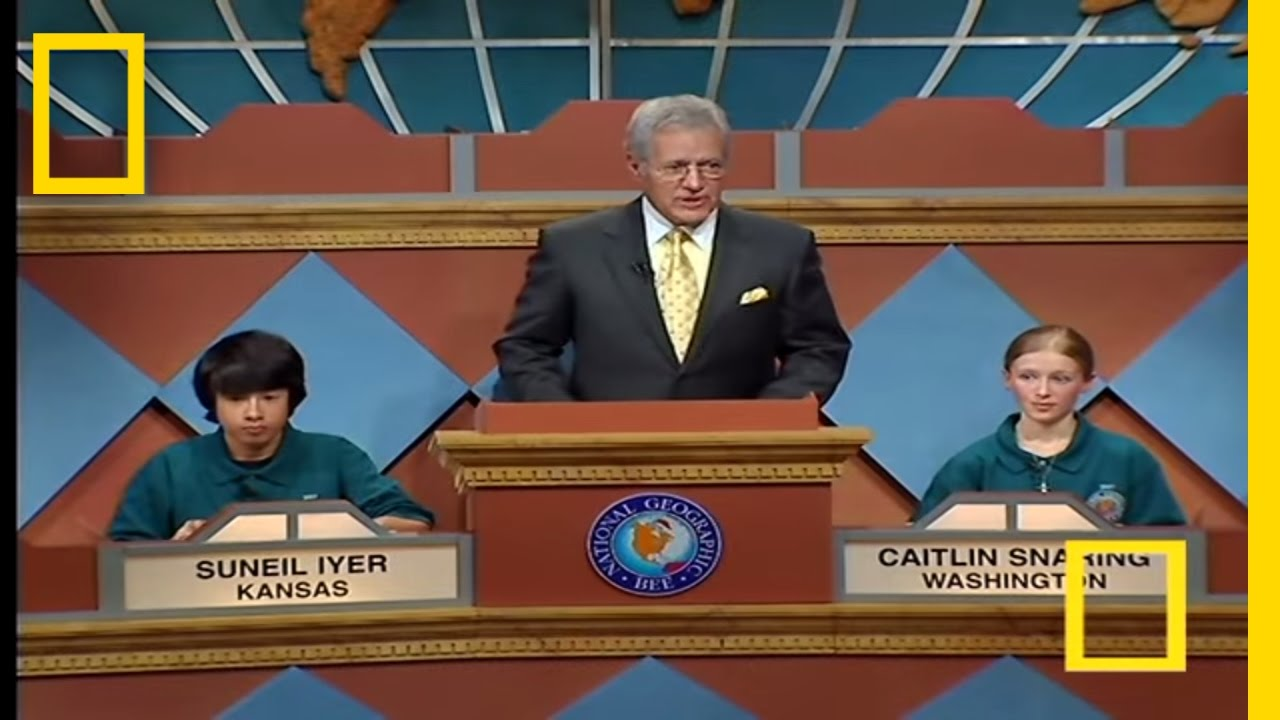 Final Question | National Geographic Bee 2007 - YouTube