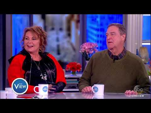 Did Roseanne Barr Have A Crush On John Goodman?   The View