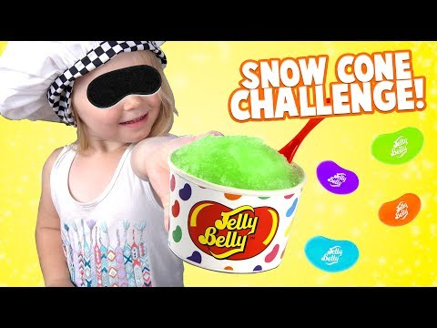 Thumbnail: Snow Cone Challenge!! KIDS REACT to Jelly Belly Colors & Fun Games