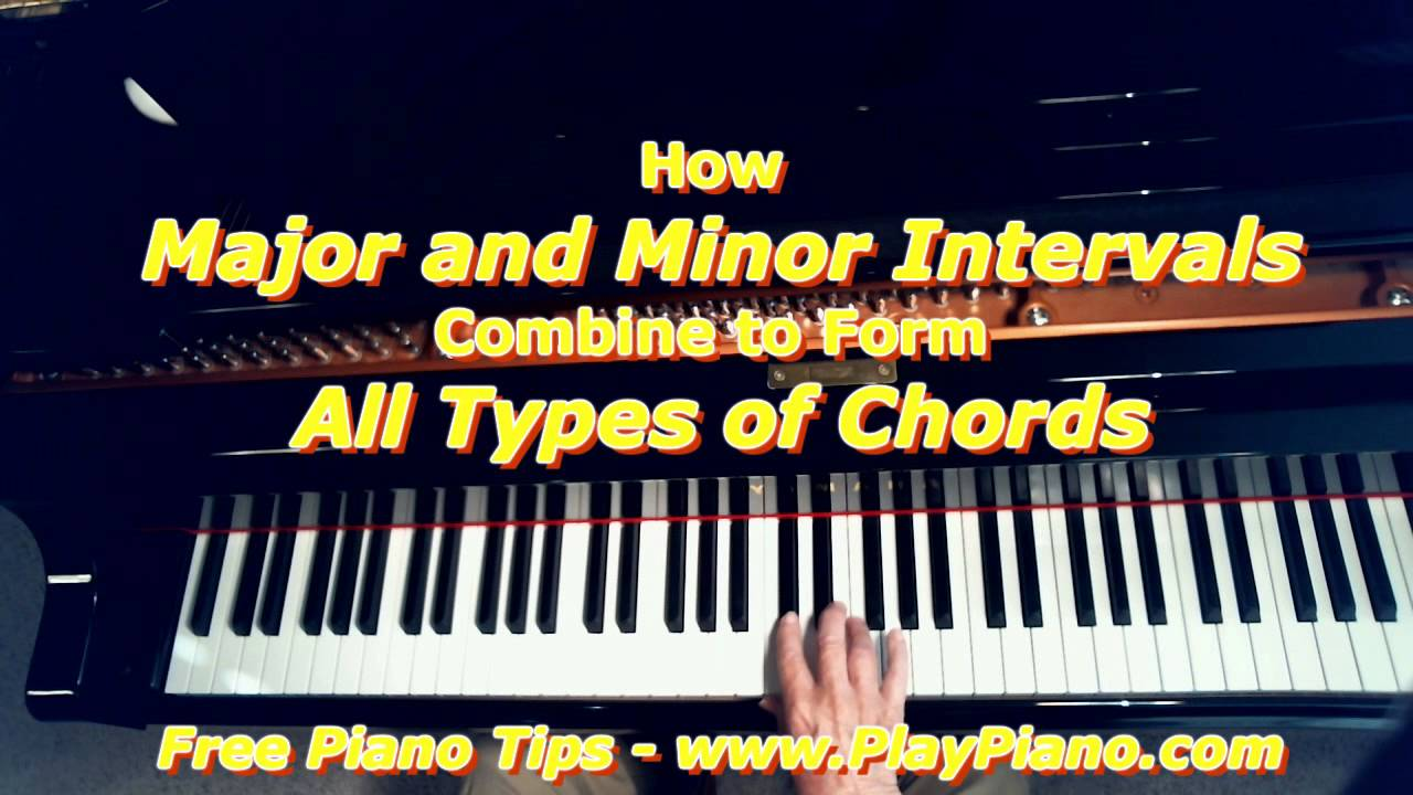 How major and minor intervals combine to form all types of chords how major and minor intervals combine to form all types of chords hexwebz Image collections