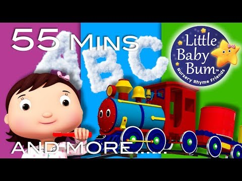 Learning Songs | Part 2 | ABCs, Colors, 123s, Growing-up | Preschool Songs | By LittleBabyBum!
