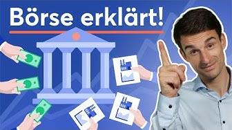 Börse für Anfänger erklärt! Börse, Börsengang & Aktienkurs verstehen